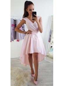 High Low Pink Prom Dress Homecoming Graduation Cocktail Dresses 99701158