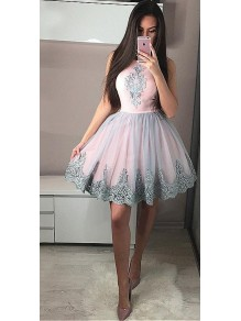 Short Lace Prom Dress Homecoming Graduation Cocktail Dresses 99701169