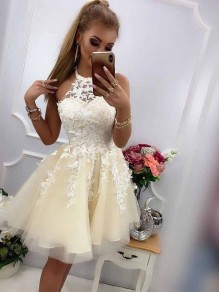Short Lace Prom Dress Homecoming Graduation Cocktail Dresses 99701177