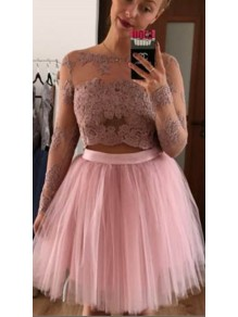 Short Lace Prom Dress Homecoming Graduation Cocktail Dresses 99701190