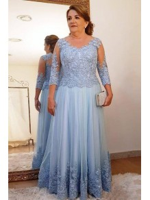 Elegant Beaded Lace 3/4 Length Sleeves Mother of the Bride Dresses 99702002