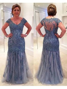 Beaded Lace Floor Length Mother of the Bride Dresses 99702016