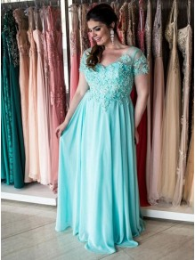 A-Line Beaded Lace Mother of the Bride Dresses 99702024