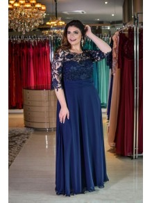 A-Line Chiffon Lace Mother of the Bride Dresses 99702029