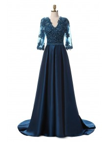 A-Line Beaded Lace Mother of the Bride Dresses 99702051