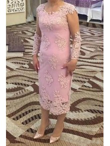 Long Sleeves Lace Mother of the Bride Dresses 99702056