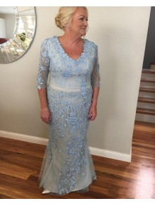 Mermaid Lace Long Mother of the Bride Dresses 99702066