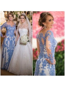 Long Sleeves Beaded Lace Mother of the Bride Dresses 99702088